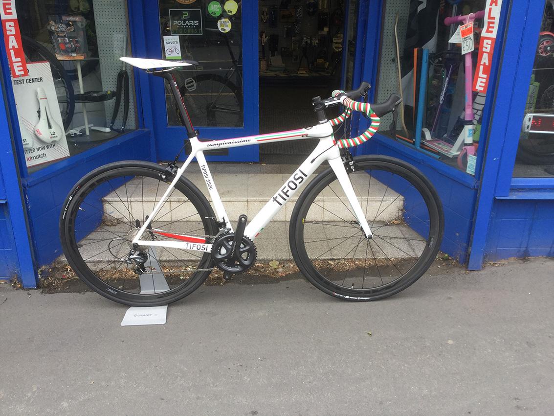 Custom Build Dave Rayner Cycle Sport Bike Shop